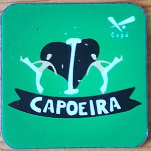 "Buy Magnet ""I LOVE CAPOEIRA"""